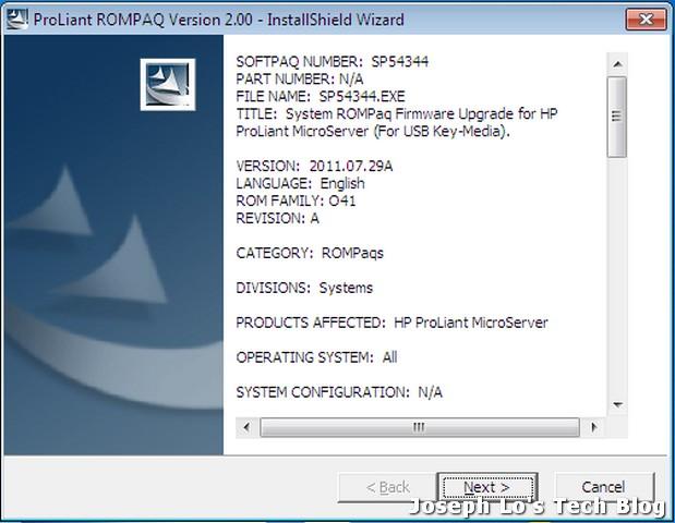Rompaq Softpaq Software