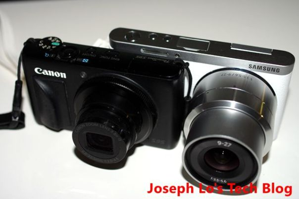 NX Mini and Canon S95 pic2
