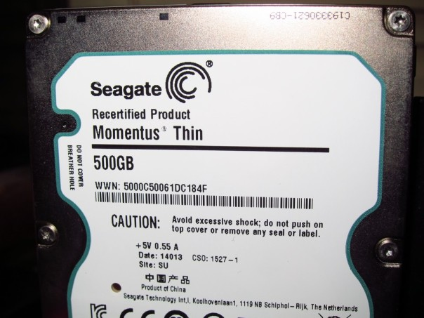 Seagate Recertified Product