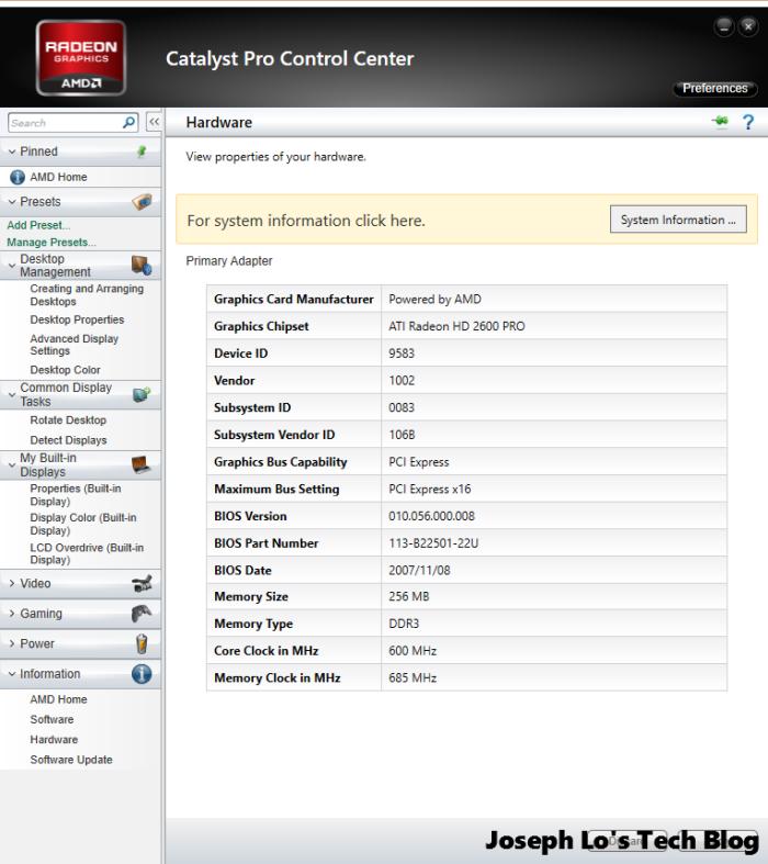 Catalyst Pro Control Center