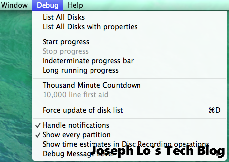 disk utility - show all partitions