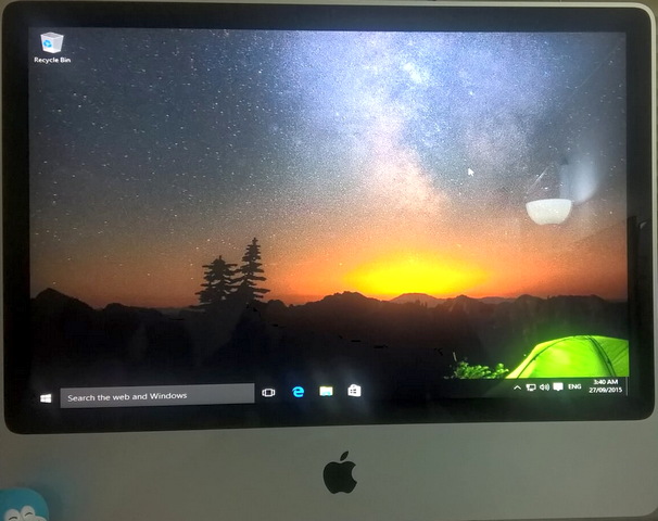 iMac and Windows 10