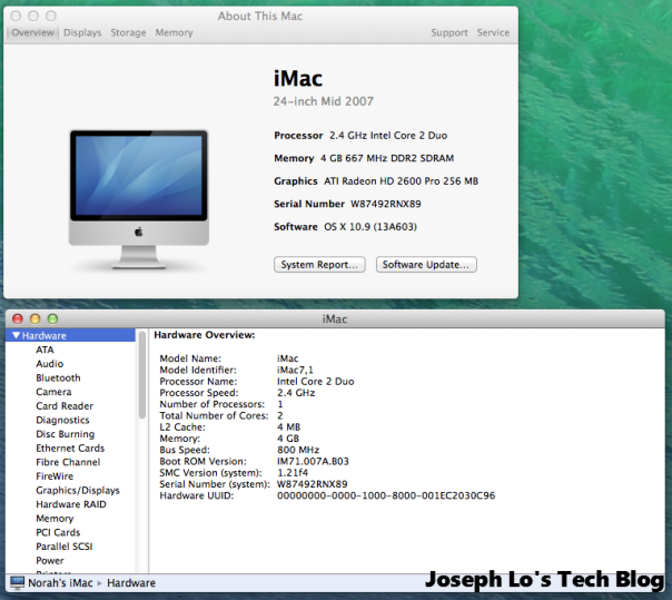 iMac Hardware Overview